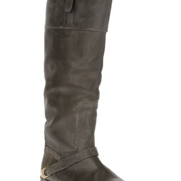 Golden Goose Deluxe Brand Distressed Leather Boot