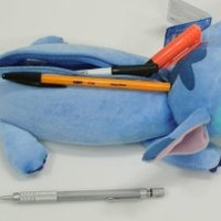 New Disney Stitch Plush Doll pencil case bag pouch