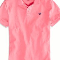 AEO Men's Solid Polo