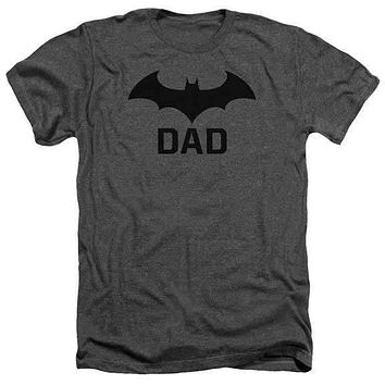 Batman Hush Dad Heathered Adult T-Shirt