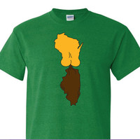 It's A Green Bay Thing TSHIRT, Wisconsin shirts, on sale now, Milwaukee, Green Bay, Wisconsin, Custom shirts, Guaranteed, screen print