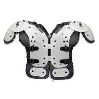 Rawlings Football Shoulder Pads - Youth (White)