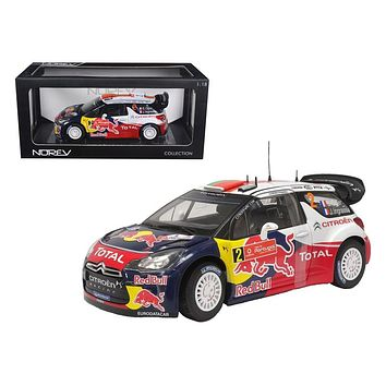 Citroen DS3 #2 WRC Winner Rally Portugal 2011 OgierIngrassia Red Bull 1:18
