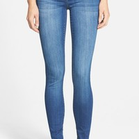 Junior Women's Celebrity Pink Skinny Jeans ,