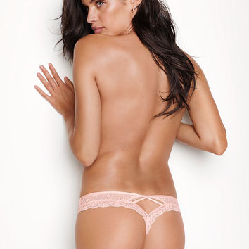 Wildflower Lace Thong Panty - Very Sexy - Victoria's Secret