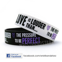 1 SINGLE Love Is Louder Demi Lovato Wristband