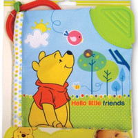 Disney Baby: Winnie the Pooh Hello Little Friends Soft Book by Kids Preferred (Discontinued by Manufacturer)