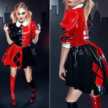 Artifice Products - Harley Quinn Gothic Lolita dress