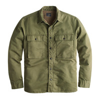 J.Crew Mens Sherpa-Lined Military Jacket