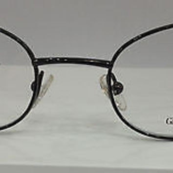 NEW AUTHENTIC GIORGIO ARMANI GA 315 COL 9Q9 BROWN METAL EYEGLASSES 52MM