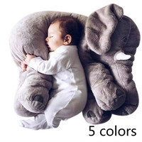 Fashion Creative Elephant Pillow Children Plush Toys Lovely Elephant Decoration Doll Baby Gifts