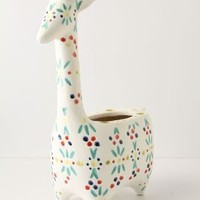 Giraffe Medallion Pot-Anthropologie.com