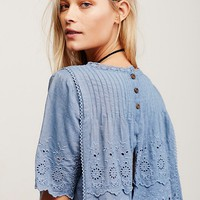 Free People Heirloom Moonstone Top