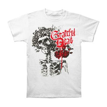 Grateful Dead Men's  Bertha T-shirt White