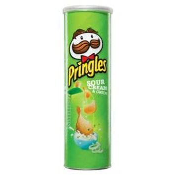 Pringles Super Stack Sour Cream & Onion Potato Crisps 6.38 oz