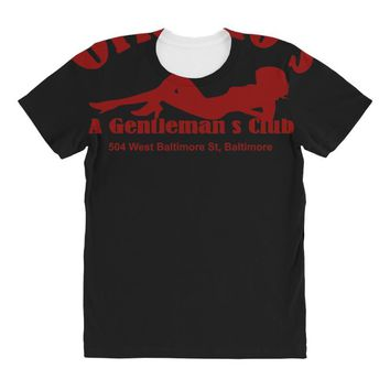 he wire   orlando's gentlemans club   cult tv All Over Women's T-shirt