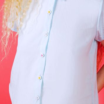Daisy Button Up Shirt