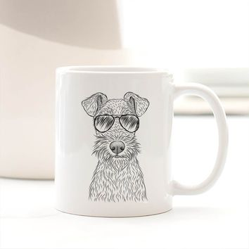 Fitz the Wire Fox Terrier - Mug