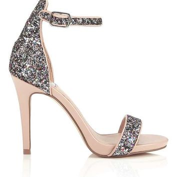CAMILLE Glitter Sandals - Party Shop - Apparel
