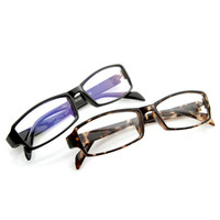 Optical RX Modern Rectangular Basic Frame Glasses 8031 [2 Pack]