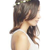 Small Flower Bud Crown | Wet Seal