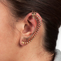 Gold Scale Ear Cuff