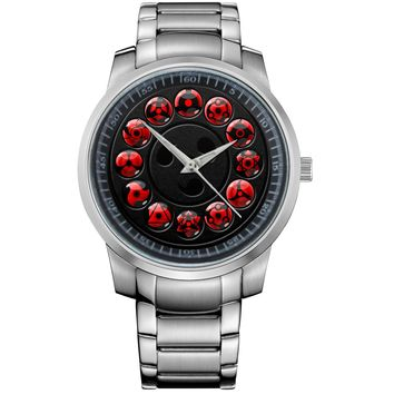 NARUTO 48 SHARINGAN Metal Watch