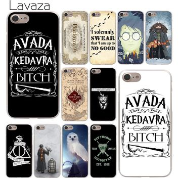 Lavaza always Harry Potter Deathly Hallows Hard Phone Cover Case for Apple iPhone 10 X 8 7 6 6s Plus 5 5S SE 5C 4 4S Coque Shell