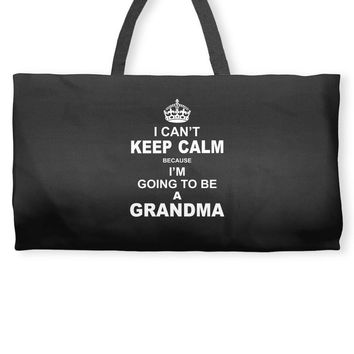 ....i am going to be a Grandma Weekender Totes
