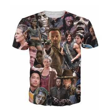 New Arrive The Walking Dead Paparazzi T-Shirt women men