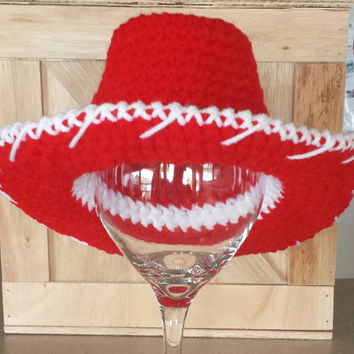 Crochet Jessie / Toy Story Inspired Cowboy Hat