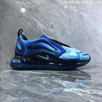 hcxx N1061 Nike Air Max 720 inne eye Full Palm Air Cushion Sports Running Shoes Blue