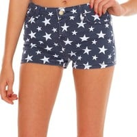 Meet The Stars Shorts - Blue Print