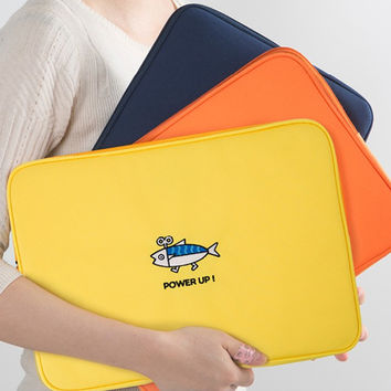 Ggo deung o eco-friendly 13 inches laptop pouch case