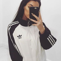 """Adidas"" Women Fashion Unisex Cardigan Jacket Coat"