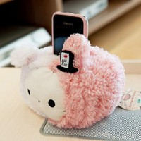 Cute San-X Sentimental Circus Rabbit Plush Phone Holder