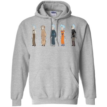 Rick & morty 20-01  Pullover Hoodie 8 oz