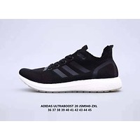 Adidas UltraBoost Fashionable Women Men Casual Breathable Sport Running Shoes Sneakers Black