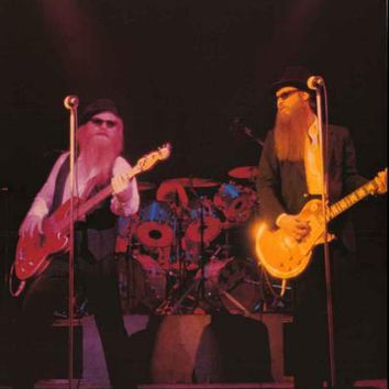 ZZ Top Live 1984 Poster 24x33