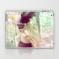 Distraught Laptop & iPad Skin by Lucy Helena