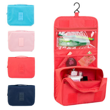 Organizer Hanging Wash Toiletry or Make up Bag