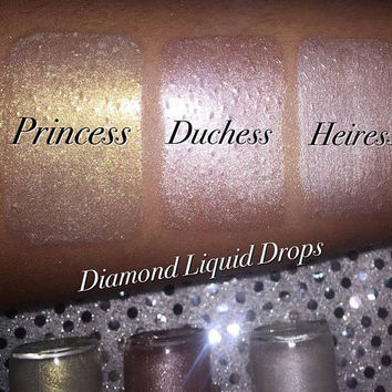 Heiress Liquid Highlighter, Diamond Liquid Highlighters,Liquid Drops, Liquid Highlighters, Highlighter, Glow Drops, CoverFx Dupe