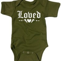 Baby's Loved One Piece - Military Green