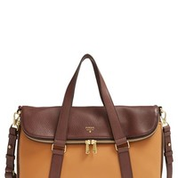 Fossil 'Preston' Foldover Leather Tote (Online Only)