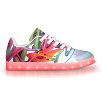 Gravity Wave by Brian Scott - APP Controlled Low Top LED Shoes