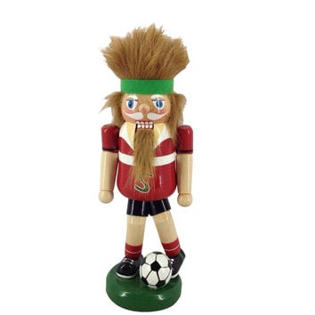 9'' Soccer Nutcracker at Joann.com