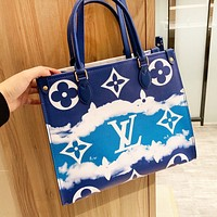 Louis Vuitton LV Tie-Dye Print Series High Quality Women Leather Handbag Tote Crossbody Satchel Shoulder Bag