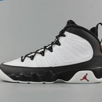[Free Shipping ] Nike Air Jordan 9 Retro OG Space Jam  White True Red Black 302370-112 Basketball Sneaker