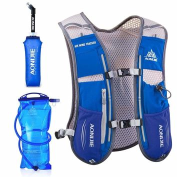 TriPack Hydration Pack Marathon Racing Vest Hiking Cycling Trail Running Backpack