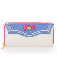 2015 New Samantha Vega Sailor Moon 20th Anniversary Limited Edition Ladies Long Zipper Leather Wallet